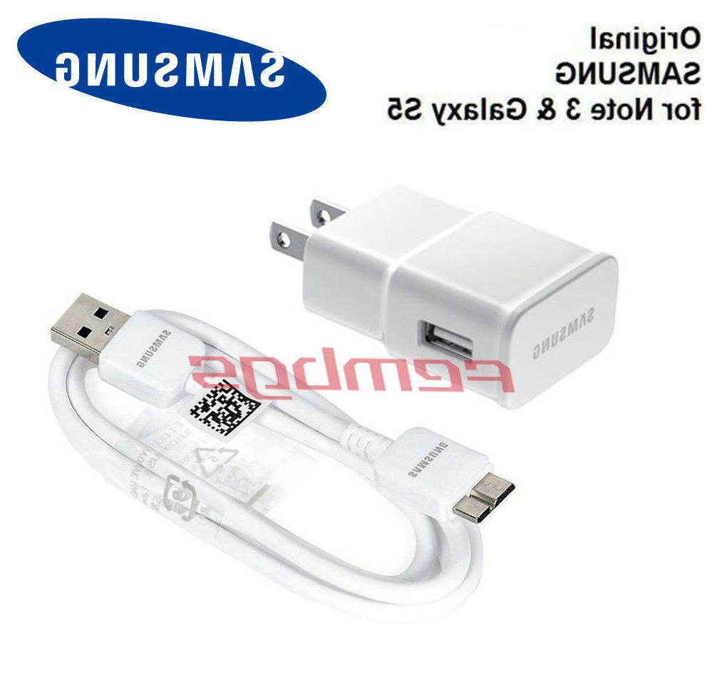 New OEM Original Samsung USB Wall Charger Data Sync Cable Fo