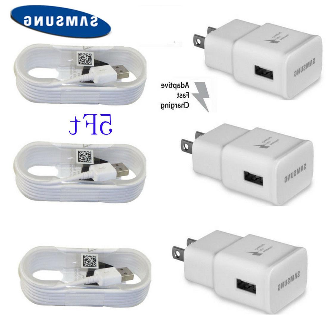OEM S7 Note 4 5 Charging Charger + 5 Cable