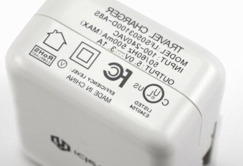 Original iClever USB Wall Charger Power Adapter