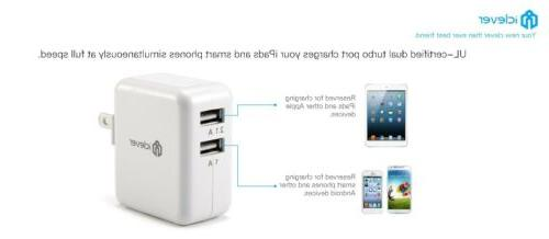 Original USB Wall Charger Travel Power White Small