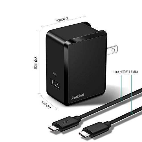 Nekteck 18W Charge USB Wall Charger Galaxy S6,Note 6, G4