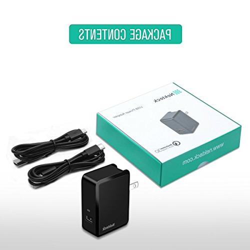 18W Quick Charge Wall Charger S6,Note G4 G6
