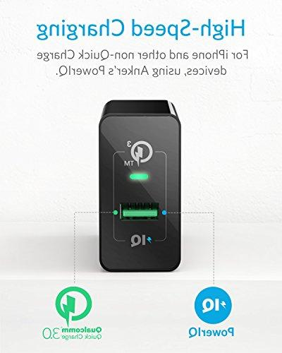 Quick Charge 3.0, 18W G4, A9/M9, Nexus 9, iPhone, and More