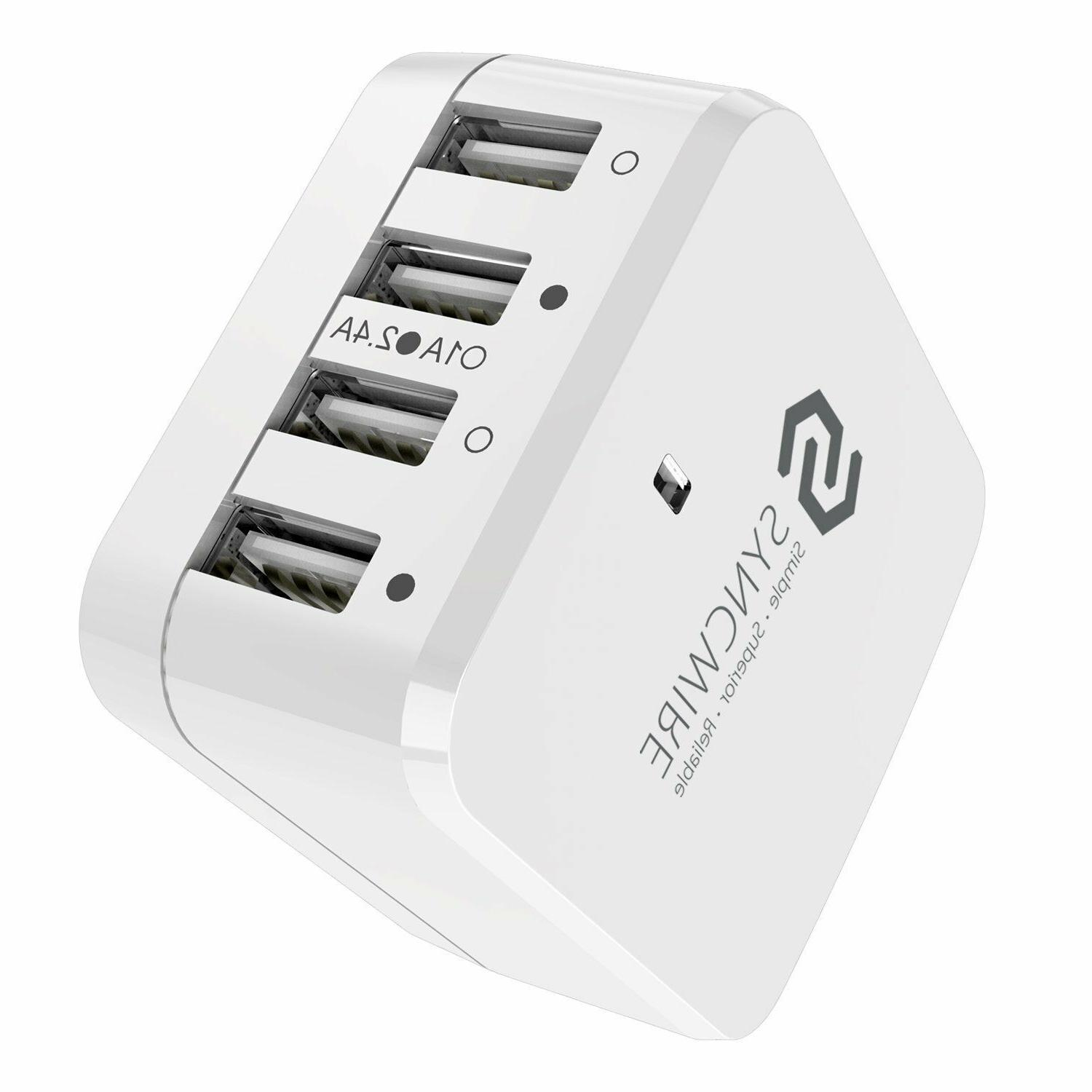 Syncwire 4-Port Charger UK for iPhone