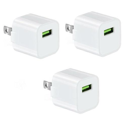USB Wall Charger, RKINC 1A/5V Universal Portable Travel Adap