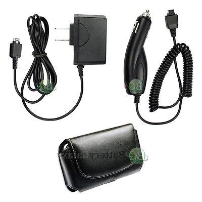 Wall+Car Charger+Case for Phone LG VX10000 Voyager AX260 LX2