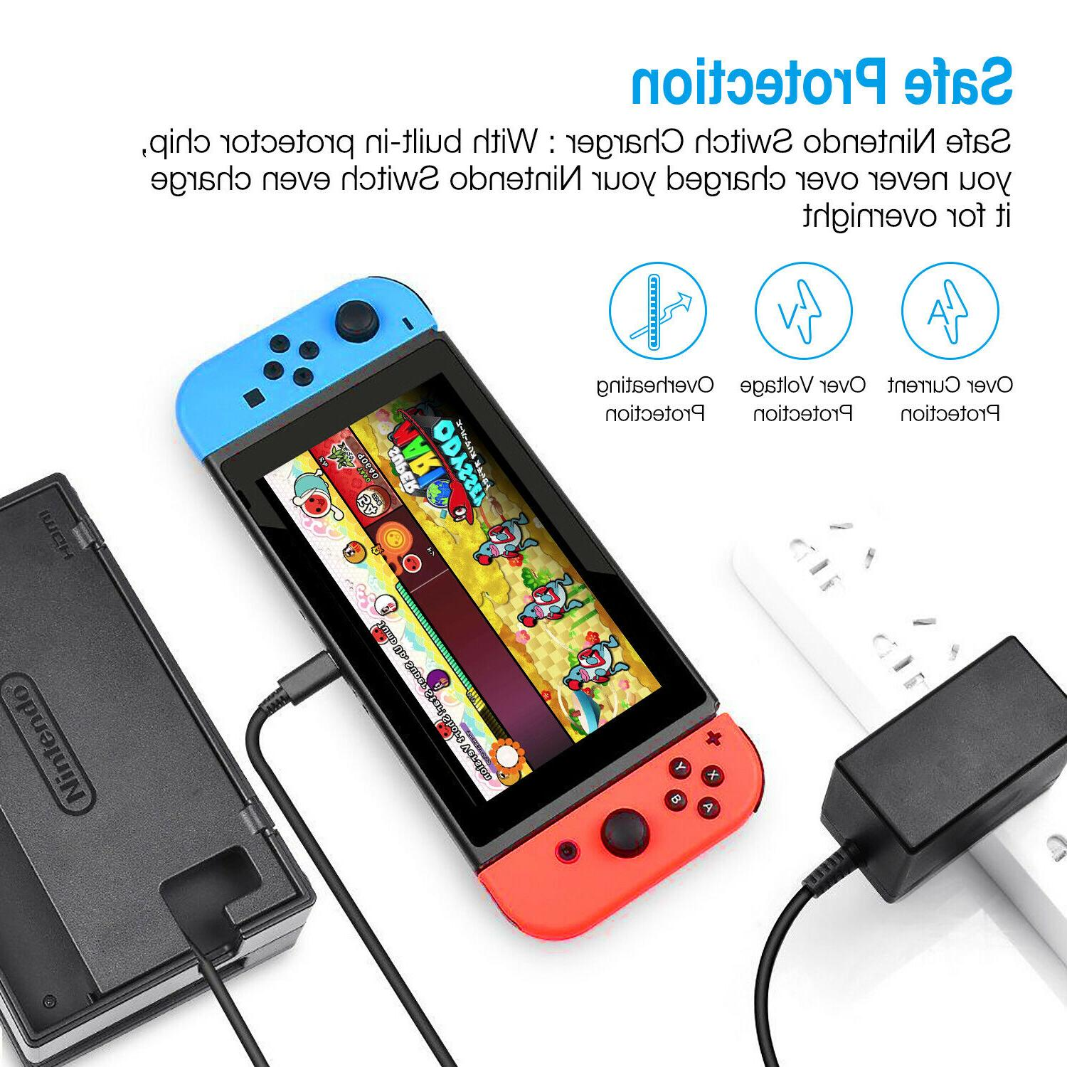 AC Power Charger For Switch