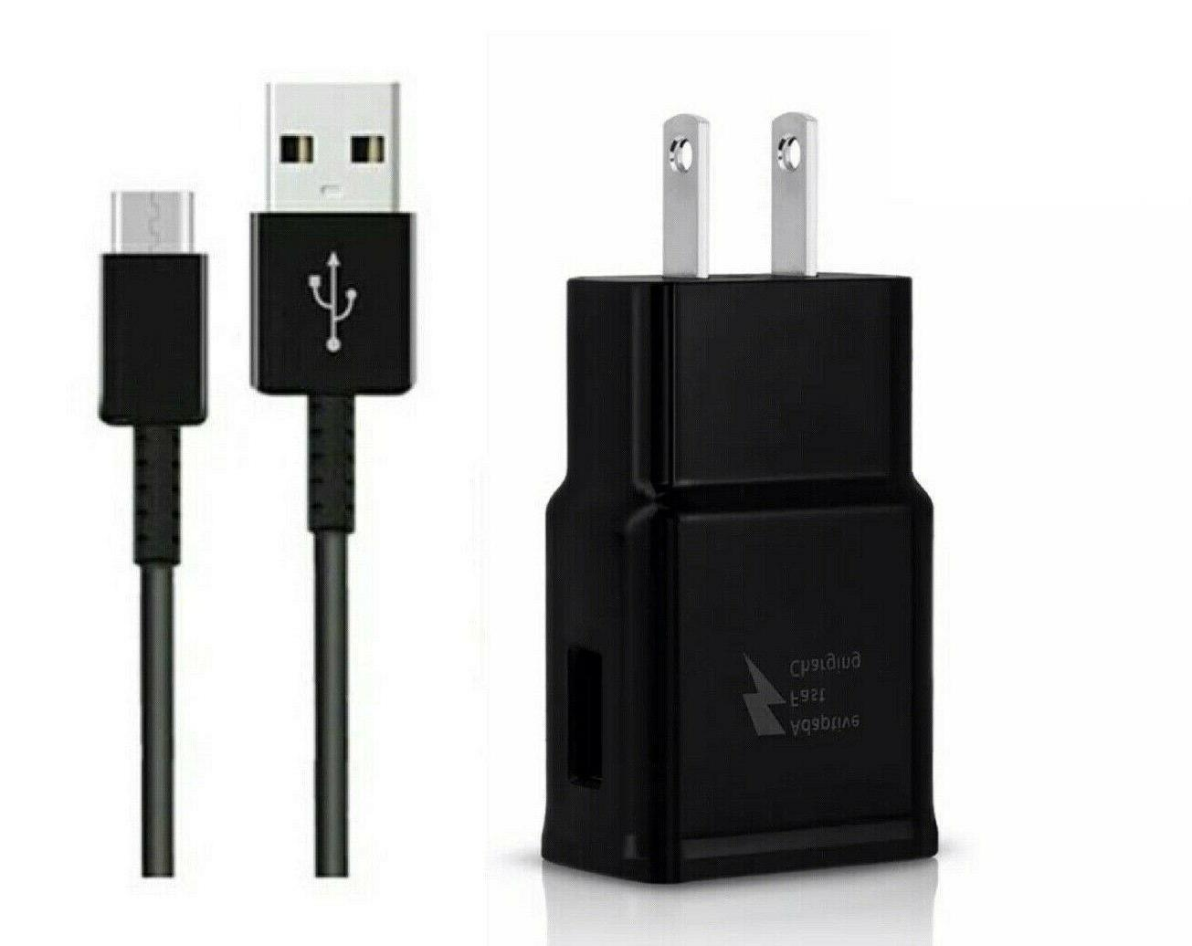 fast wall charger type c cable