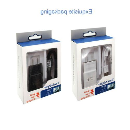 5/3/1 Pack Fast Charger + Micro USB Type Cable Android