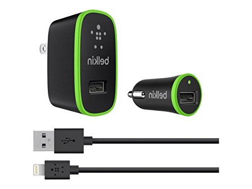 Belkin Apple Certified Charging Kit Lightning USB