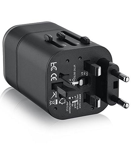 FosPower B3 Converter Wall Travel Charger Dual