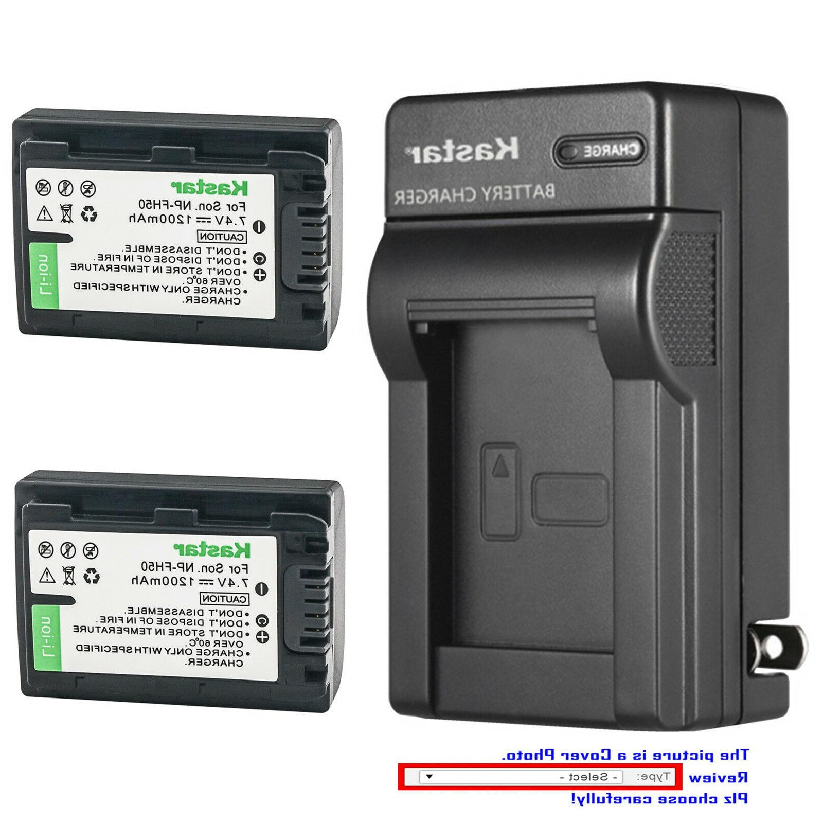 battery wall charger for sony np fh50