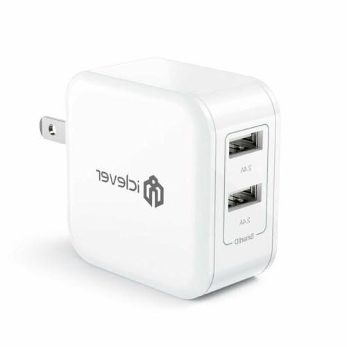boostcube 24w 4 8a dual wall charger
