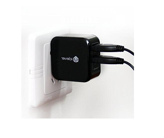 iClever Dual USB Wall Charger Adapter S9 S8