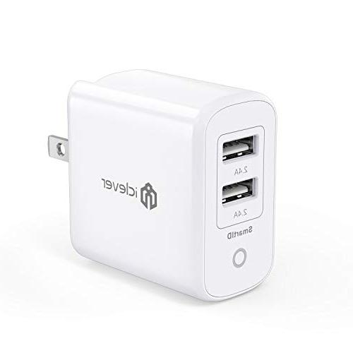 boostcube usb charger 24w 4 8a dual