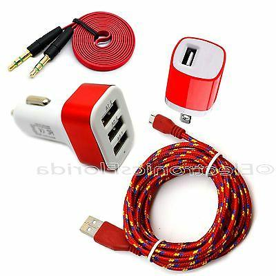 car and wall charger plus audio