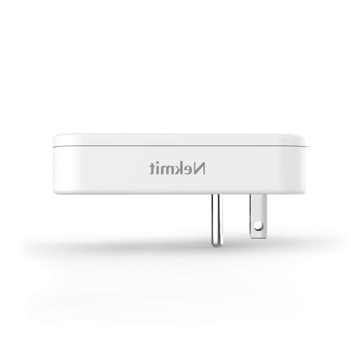 Nekmit Dual Thin Flat USB Charger with