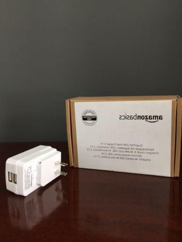 dual port usb wall charger 2 1