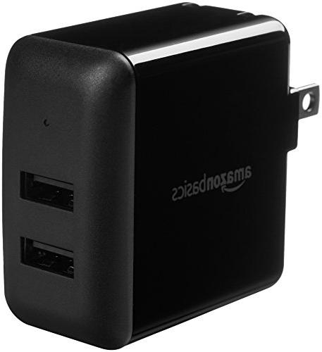 dual port usb wall charger 2 4