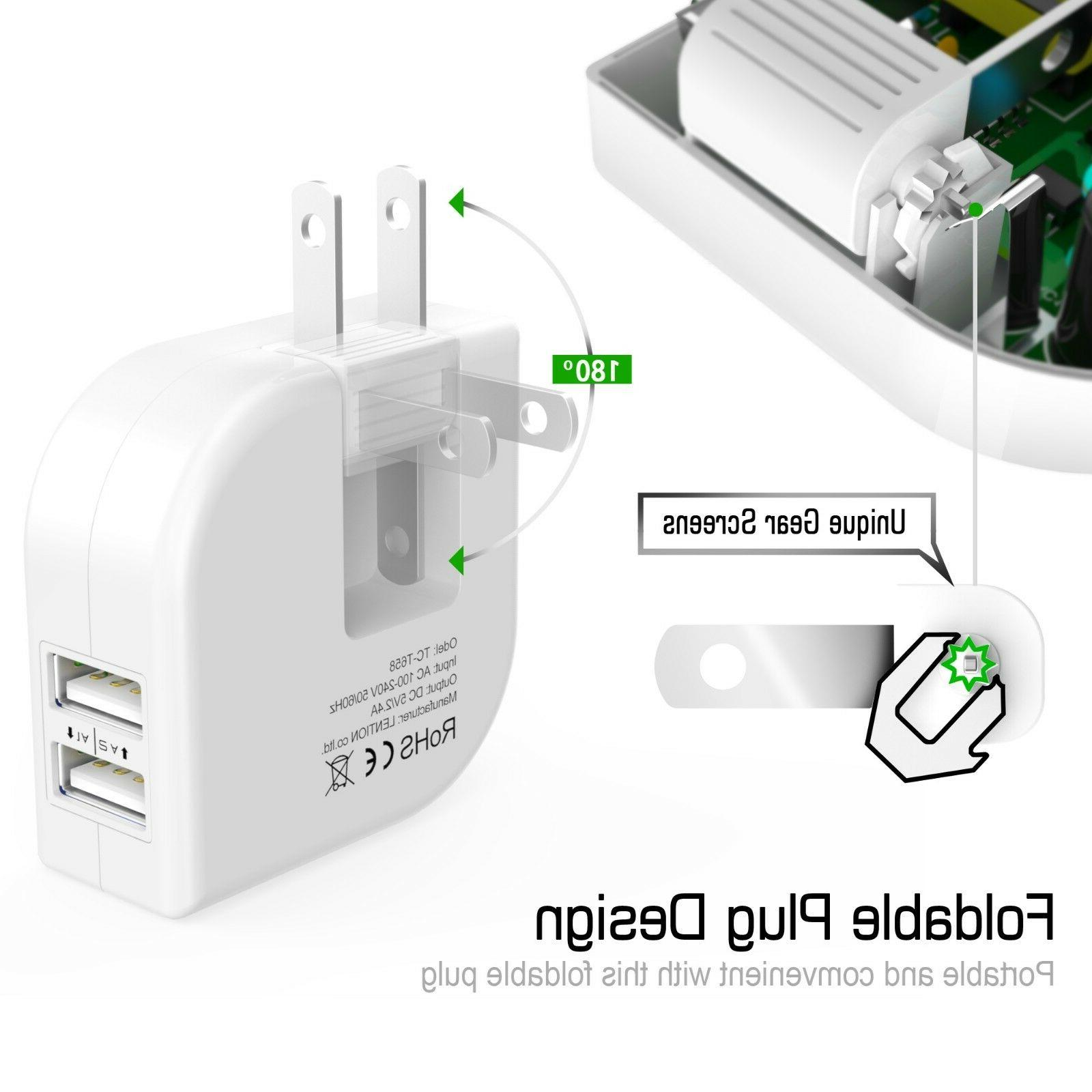 Dual Port Charger 2Amp Fast Travel iPhone