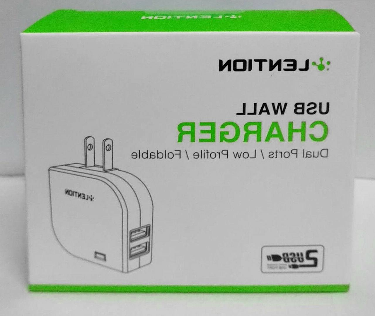 Dual USB Charger 5V Fast Travel Power Adapter iPhone