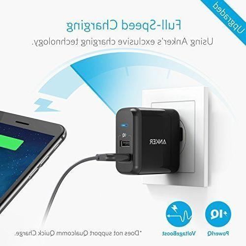 Anker Elite USB Charger, Dual Charger, with PowerIQ