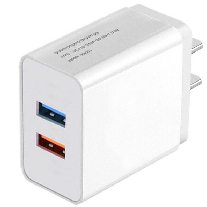 USB Charger Plug AC Power Adapter iPhone LG Android