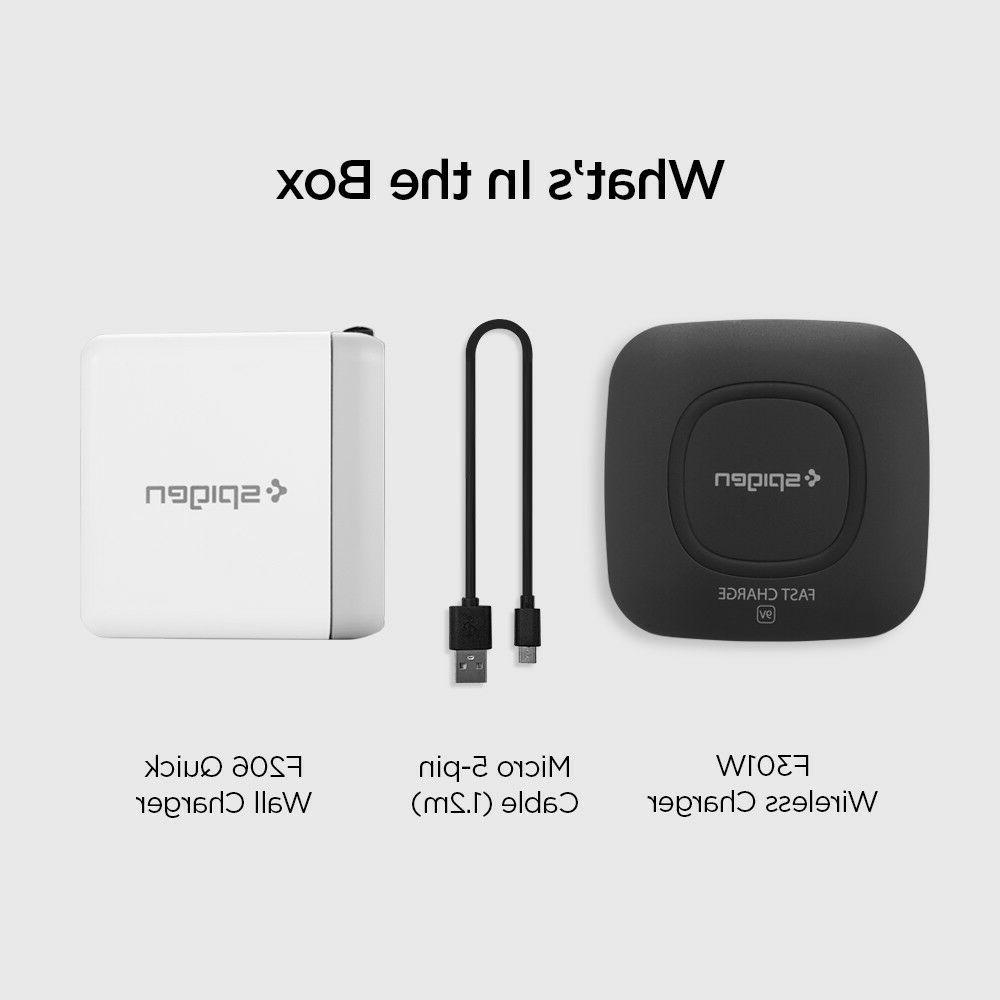 Fast Wireless + Quick Charger