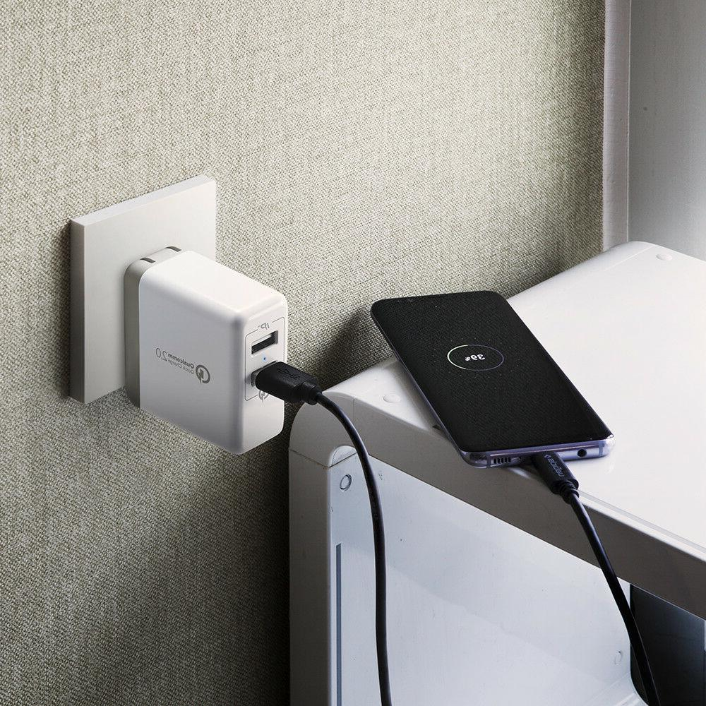 Fast Wall Adapter Included For Galaxy