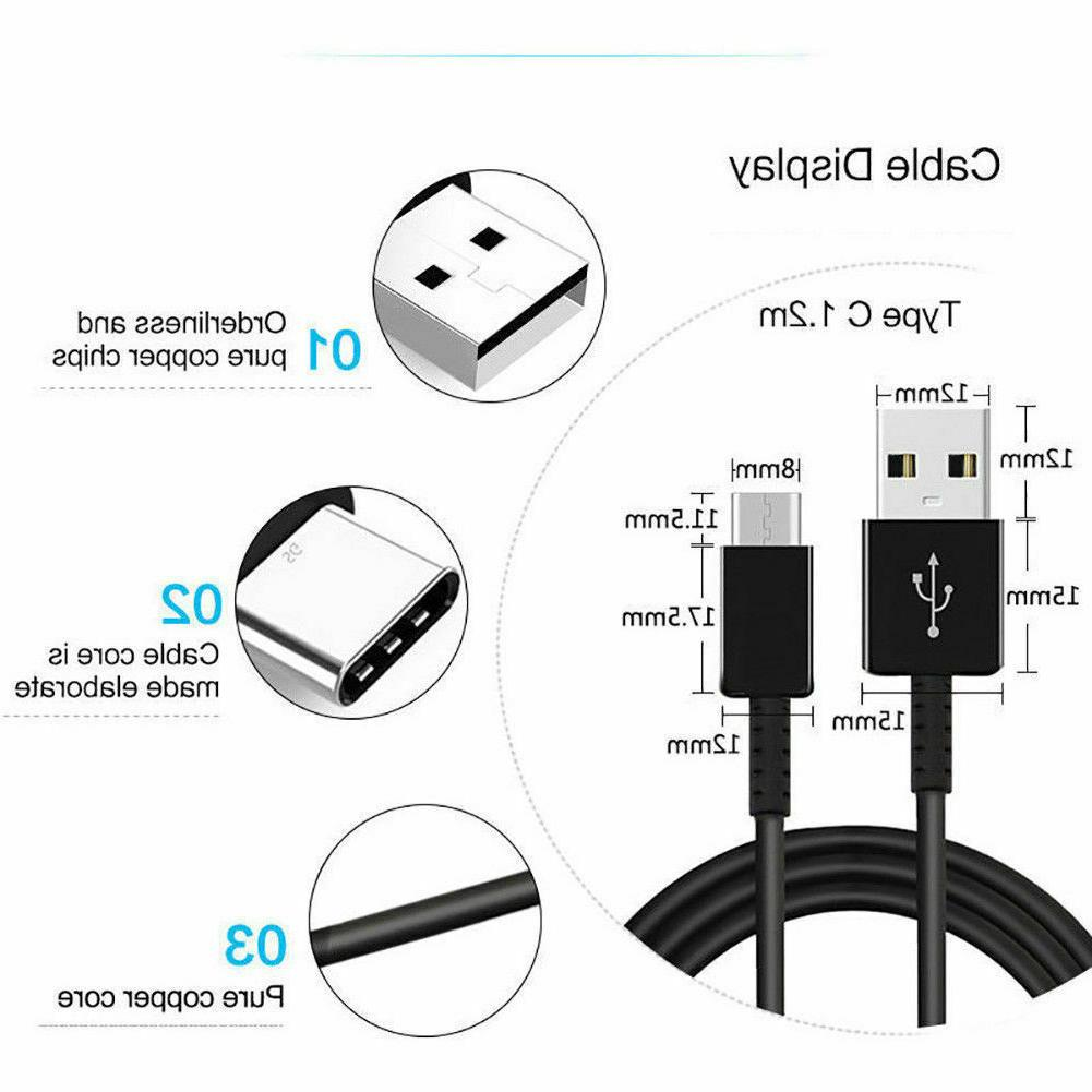 For Galaxy Note10 S8 S10 OEM 3.0 Charger Type-C Cable