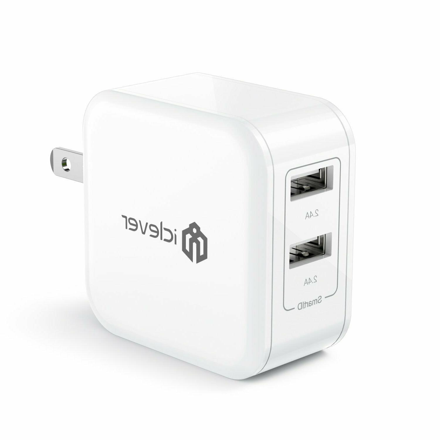 boostcube24w dual usb wall charger with smartid
