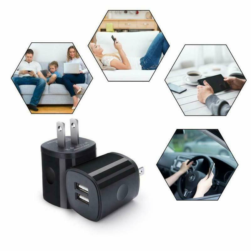 Charger Block 5 Pack Usb Charge
