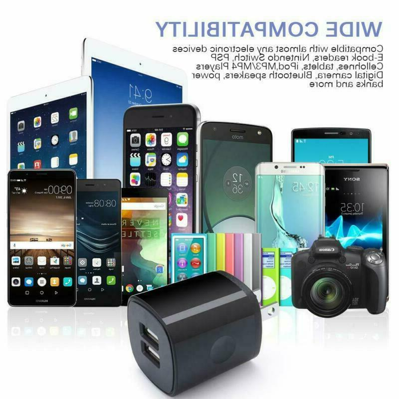 For Iphone Wall Charger Block Pack Usb Charging Block Charge