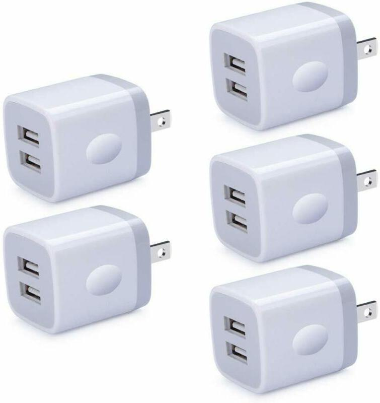 For Iphone Charger Block 5 Usb Block Charge