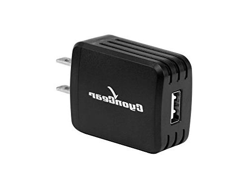 LG Premier LTE K10 - High-Powered / 2.1 Wall Charger with USB Data and Atom LED