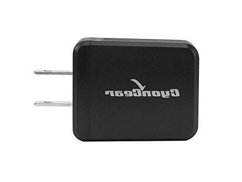 LG Premier LTE K10 / 2.1 Amp Wall Charger USB Charging and Atom