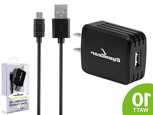 LG LTE K10 - / 2.1 Wall Charger USB Charging Data and