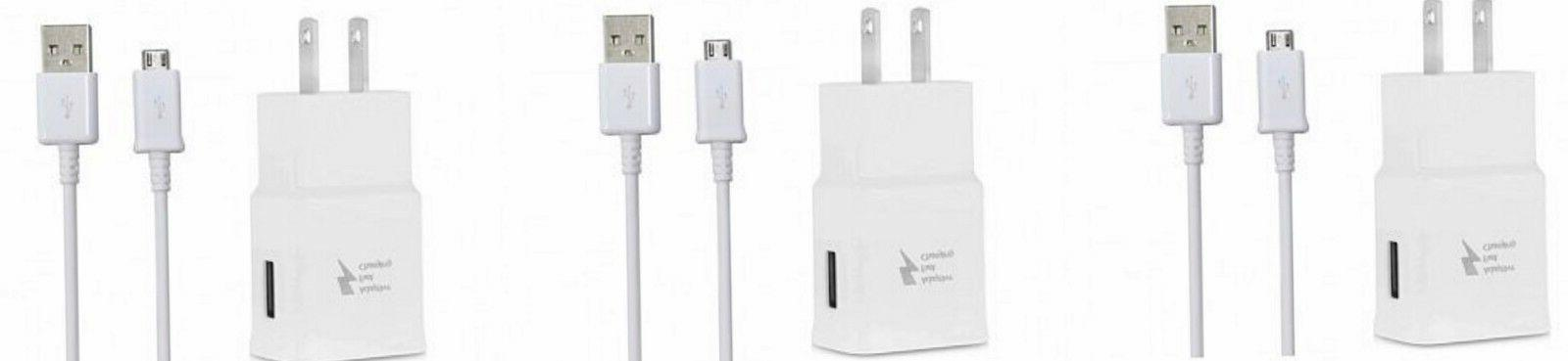 Lot Adaptive Fast Rapid Charger USB Cable For S7 5