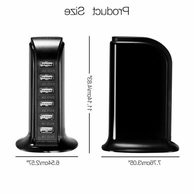Multi-function USB Wall Charger Station for Samsung