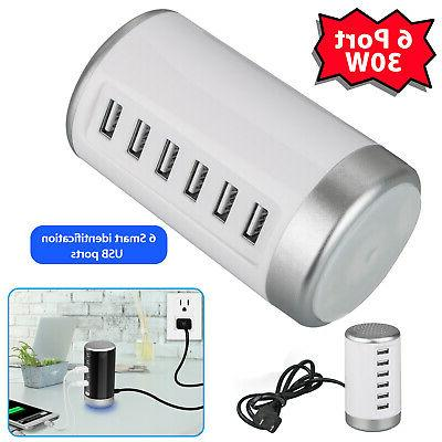 multi port 6 usb wall charger fast