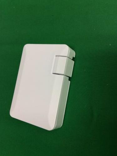 NEW 4-Port Wall 4.2A 21W White Universal Folding Slim