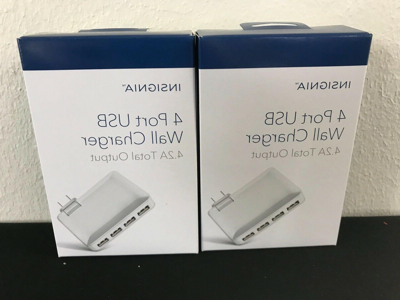 new 4 port usb wall charger 4