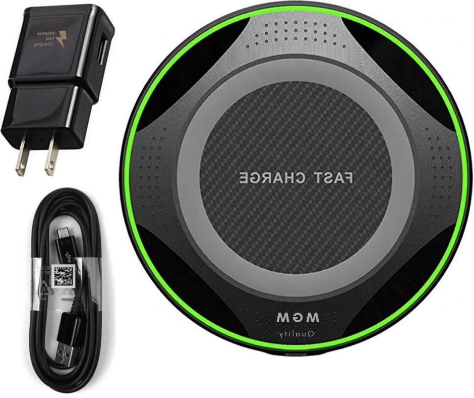 new fast qi wireless charger pad