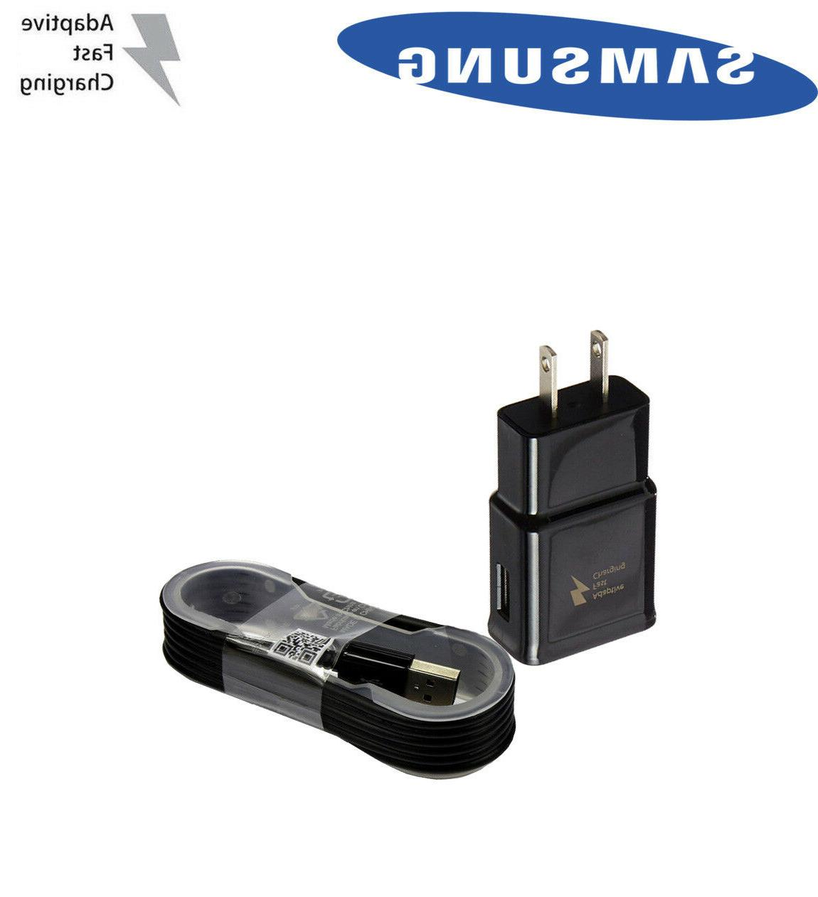 NEW Rapid Wall Charger 5Ft Cable For Samsung S6 Edge Note 4