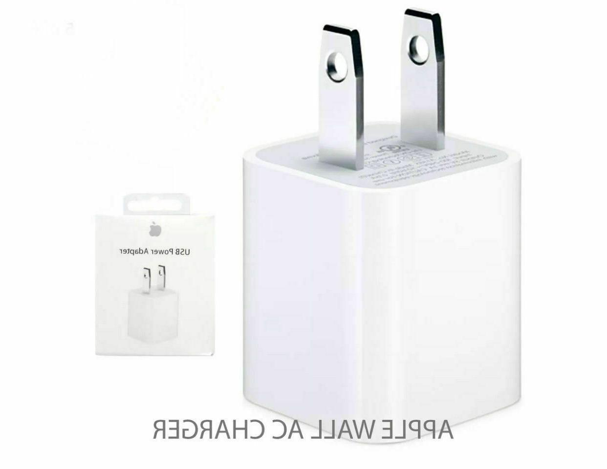 OEM Wall Charger Cube Power Plug Apple iPhone 6 7 8 X XR XS MAX