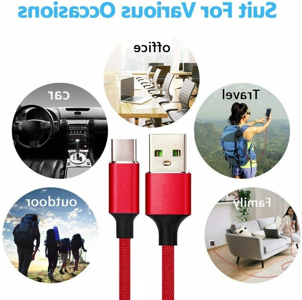 S8 S9 Wall Charger 3/6/10 USB-C