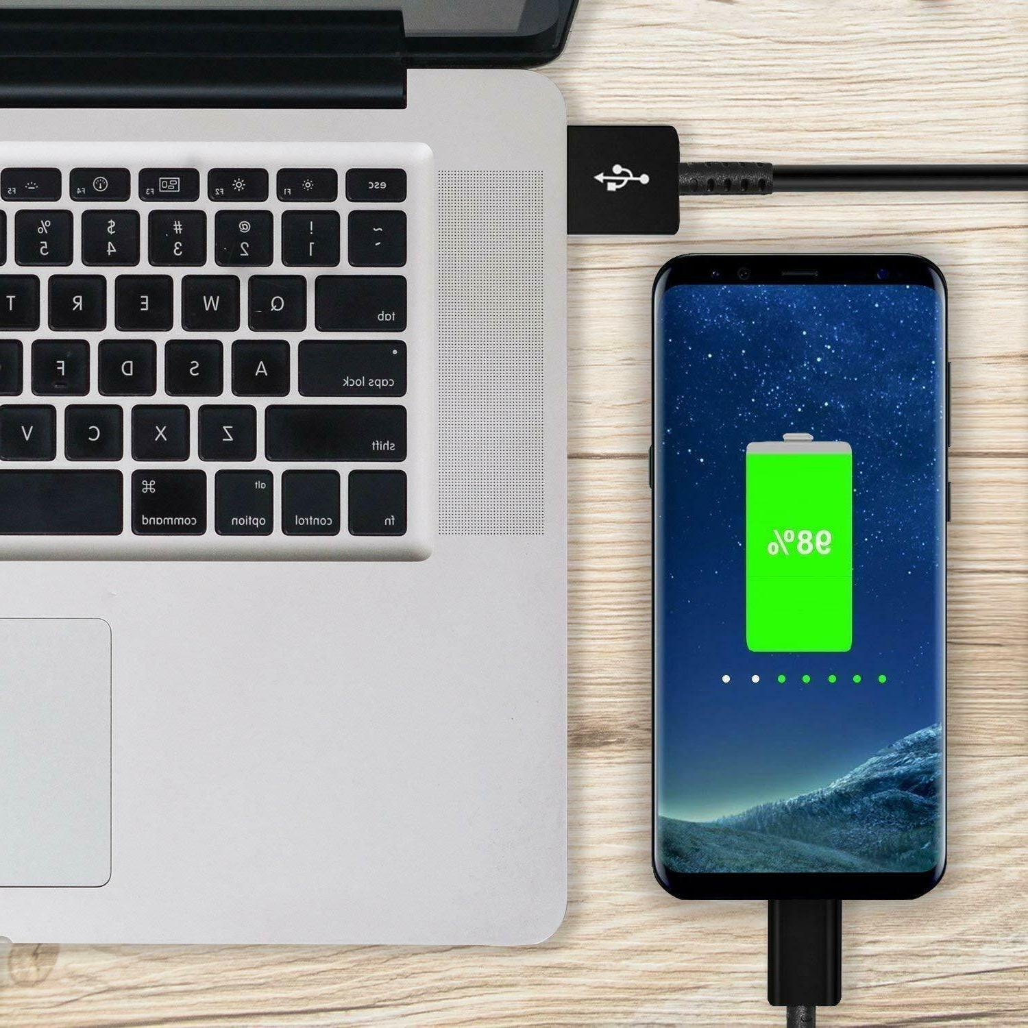 For Samsung Note 10 S9 S10 Plus Fast Charger USB Type Cable