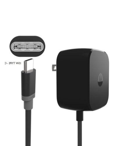 NEW Motorola 15W Rapid wall charger for Moto Z,Z2