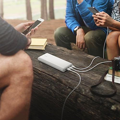 Anker PowerCore Charger, Battery with Dual Input Port and USB Ports iPad, and Devices