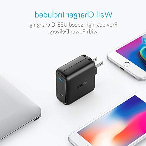 Anker PowerCore PD, Portable Charger & Delivery Wall Charger Bundle, Type C Power Bank MacBook Air/iPad Nexus MacBooks